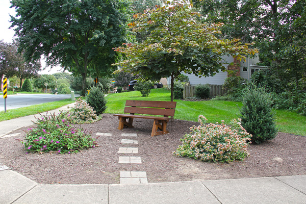 Shipley's Choice Community Bench